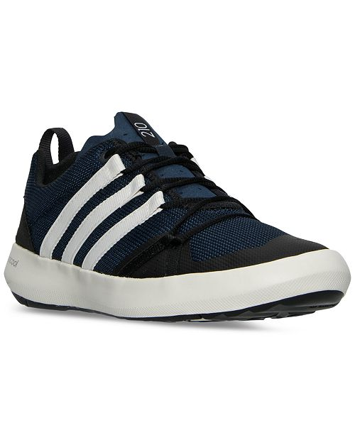 fb9579128550 ... adidas Men s Terrex ClimaCool Boat Outdoor Sneakers from Finish ...