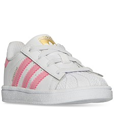 adidas Toddler Girls' Superstar Sneakers from Finish Line