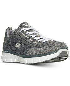 Skechers Women's Synergy: Spot On Wide Memory Foam Walking Sneakers from Finish Line