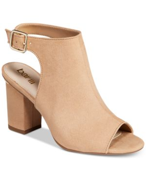 Bar Iii Marli Block-Heel Shooties, Created for Macy