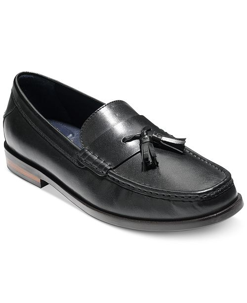 Cole Haan Men's Pinch Friday Contemporary Tassel Loafer Men's Shoes LVMaTk