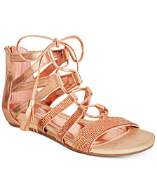 Kenneth Cole Reaction Women's Lost Look 2 Lace-Up Gladiator Sandals