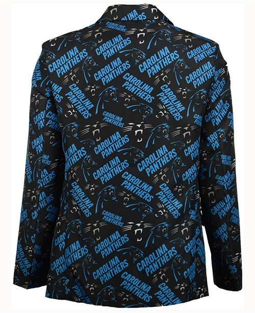 check out c3a0e b0df0 Forever Collectibles Men's Carolina Panthers Fan Suit Jacket ...