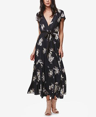 Free People All I Got Printed Maxi Dress - Dresses - Women - Macy's