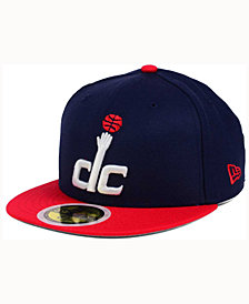 New Era Kids' Washington Wizards 2-Tone Team 59FIFTY Cap