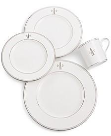 Federal Platinum Monogram Dinnerware Collection