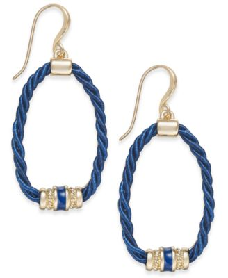 Image of Charter Club Rope Loop Drop Earrings, Created for Macy's