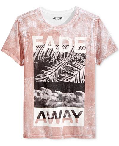 guess men 39 s fade away print cotton t shirt t shirts men macy 39 s. Black Bedroom Furniture Sets. Home Design Ideas