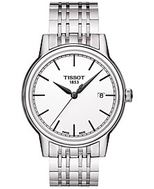 Tissot Men's Swiss T-Classic Carson Stainless Steel Bracelet Watch 40mm T0854101101100