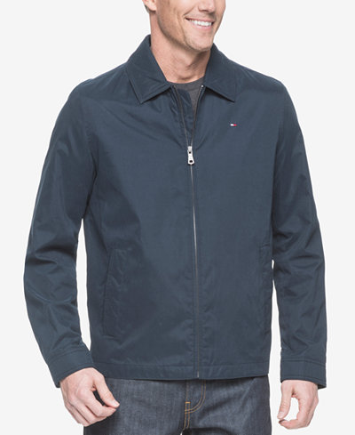Tommy Hilfiger Men's Big & Tall Lightweight Full-Zip Jacket