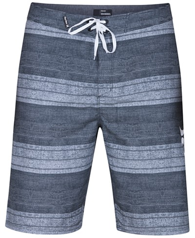 Hurley Men's Novamatic Striped 21 Boardshorts