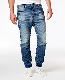 G-Star RAW Men's Staq 3D Cotton Slim-Fit Tapered Jeans