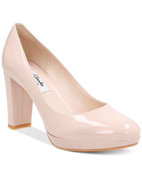fec74b2ea27e Clarks Women s Kendra Sienna Pumps   Reviews - Pumps - Shoes ...