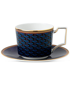 Wedgwood Byzance Collection Teacup & Saucer Set