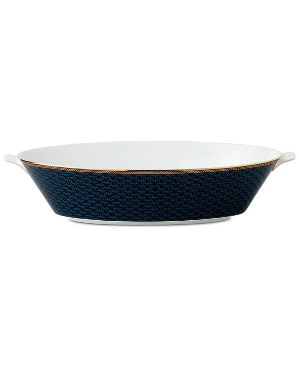 Wedgwood Byzance Collection Oval Serving Bowl