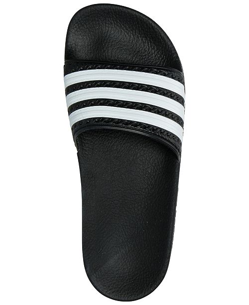 a8b123f687a0 adidas Big Boys  Adilette Slide Sandals from Finish Line   Reviews ...