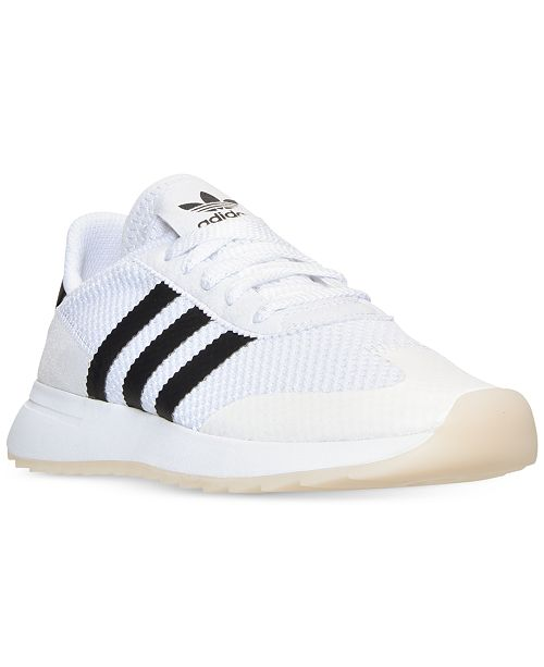 save off 3b251 e493e ... adidas Women s Flashback Casual Sneakers from Finish ...