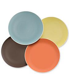 Nambé Pop Collection by Robin Levien 4-Pc. Accent Plate Set