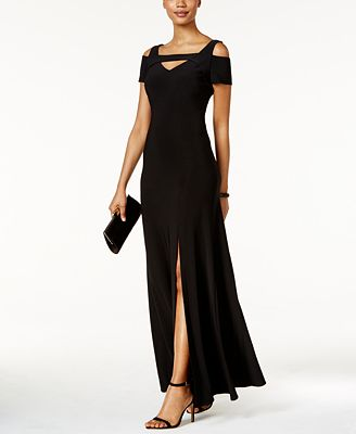 Nightway Petite Cold-Shoulder Keyhole Gown $79 (Macy's)
