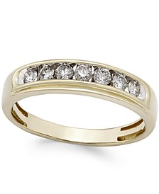 Men's Diamond Band (1/2 ct. t.w.) in 10k Gold
