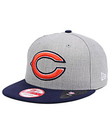 New Era Chicago Bears Heather 2-Tone 9FIFTY Snapback Cap