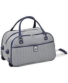 "London Fog Oxford Hyperlight 19"" Wheeled International Club Bag, Created for Macy's"
