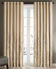 "Andora 50"" x 84"" Embroidered Curtain Panel"