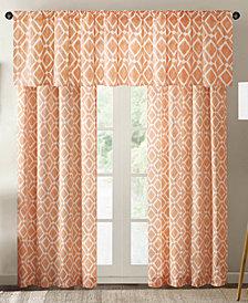 Madison Park Delray Diamond-Print Twill Window Treatment Collection