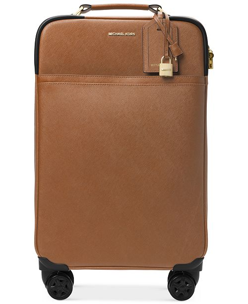 62efbcf38cde Michael Kors 4-Wheel Large Trolley Suitcase   Reviews - Handbags ...