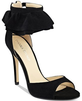 Ivanka Trump Herlle Two-Piece Dress Sandals