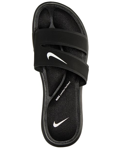 new products 2849f dbcf7 Nike Women's Ultra Comfort Slide Sandals from Finish Line ...