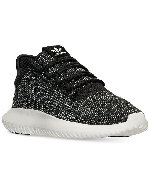 da2b430a1838 ... adidas Big Boys  Tubular Shadow Knit Casual Sneakers from Finish ...