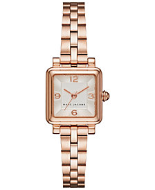 Marc Jacobs Women's Vic Rose Gold-Tone Stainless Steel Bracelet Watch 20mm