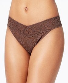 Signature Lace Original Rise Thong 4811