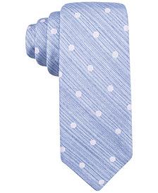 Ryan Seacrest Distinction™ Men's Plaza Dot Slim Tie, Created for Macy's