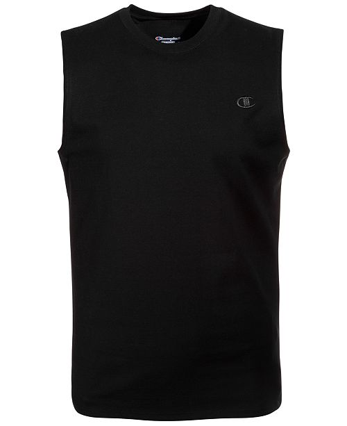 f3ef2c91cac376 Champion Men s Jersey Muscle Tank   Reviews - Casual Button-Down ...