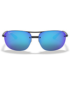 Ray-Ban Polarized Chromance Collection Sunglasses, RB4275CH 63