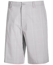 "Attack Life by Greg Norman Men's 11"" Plaid Golf Shorts, Created for Macy's"