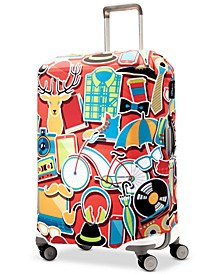Vacation Medium Luggage Cover