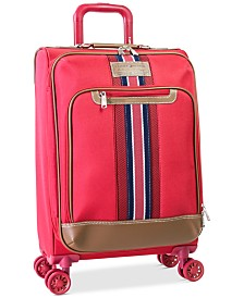"""CLOSEOUT! Tommy Hilfiger Freeport 21"""" Expandable Spinner Suitcase, Created for Macy's"""