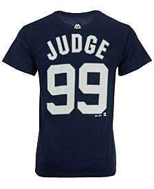 Majestic Men's Aaron Judge New York Yankees Official Player T-Shirt