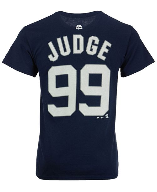 Majestic Men s Aaron Judge New York Yankees Official Player T-Shirt ... 14a6cbc4291