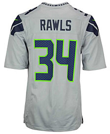 Nike Men's Thomas Rawls Seattle Seahawks Game Jersey
