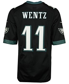 Men's Carson Wentz Philadelphia Eagles Game Jersey