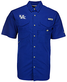 Columbia Men's Kentucky Wildcats Bonehead Short Sleeve Shirt
