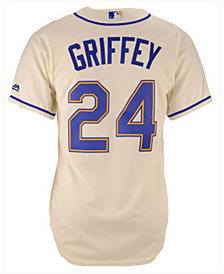 Majestic  Ken Griffey Jr. Seattle Mariners Cooperstown Jersey, Big Boys (8-20)