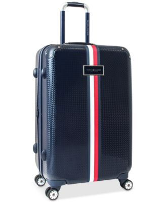 "Basketweave Hardside 25"" Spinner Suitcase"