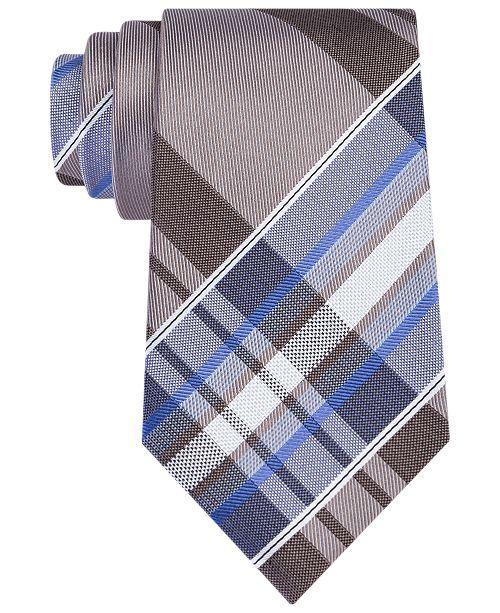 df1562e8efe7 Kenneth Cole Reaction Men's Plaid Tie. Watch Video. Macy's / Men / Ties & Pocket  Squares