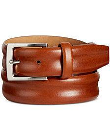 Tasso Elba Men's Leather Belt, Created for Macy's