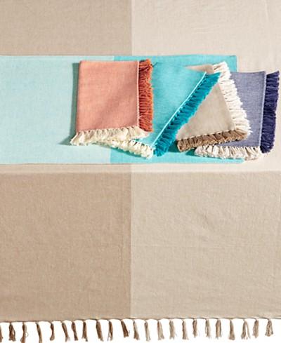 Homewear Durham Cotton Table Linens Collection